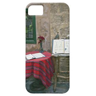 Sidewalk cafe, Chania, Crete, Greece iPhone SE/5/5s Case