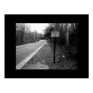 Sidewalk Ends Postcard