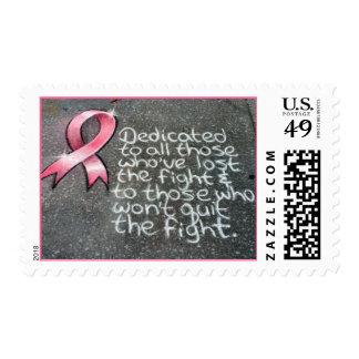 Sidewalk Message Stamp