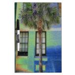 Sidewalk Palm Tree Dry-Erase Whiteboard