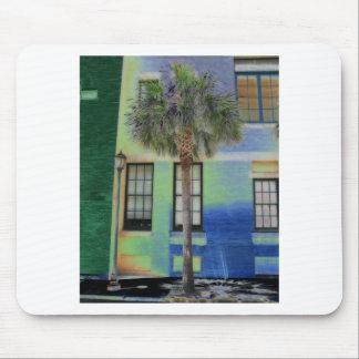 Sidewalk Palm Tree Mouse Pads