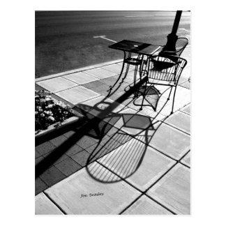 Sidewalk Shadows Postcard