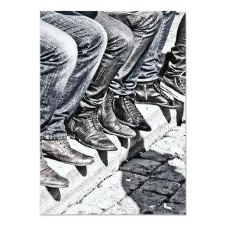 Sidewalk shoes card