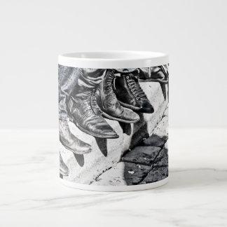 Sidewalk shoes large coffee mug