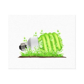 sideways cfl light bulb plants ecology.png canvas print