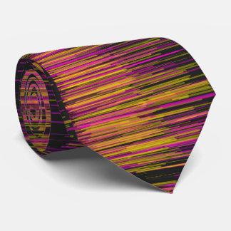 Sideways Neon Painter Tie