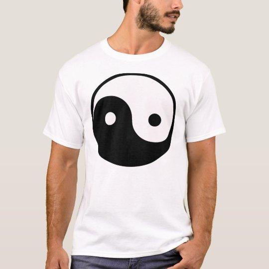 Sideways Yin Yang T-Shirt