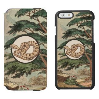 Sidewinder en el ejemplo del hábitat natural funda billetera para iPhone 6 watson