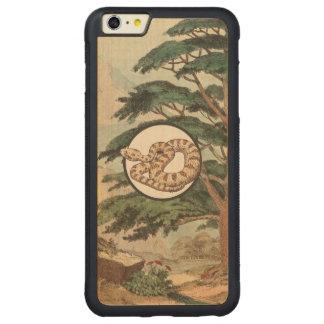 Sidewinder en el ejemplo del hábitat natural funda de arce bumper carved® para iPhone 6 plus