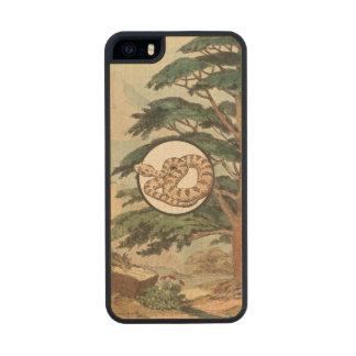 Sidewinder en el ejemplo del hábitat natural funda de arce carved® para iPhone 5 slim