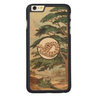 Sidewinder en el ejemplo del hábitat natural funda de arce carved® para iPhone 6 plus slim