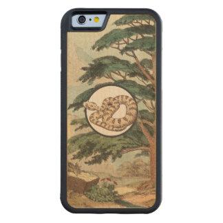 Sidewinder en el ejemplo del hábitat natural funda de iPhone 6 bumper arce