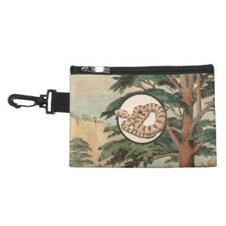 Sidewinder In Natural Habitat Illustration Accessories Bag