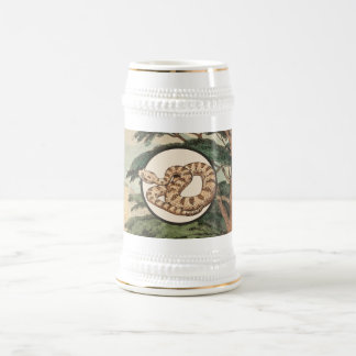 Sidewinder In Natural Habitat Illustration Beer Stein
