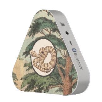 Sidewinder In Natural Habitat Illustration Bluetooth Speaker