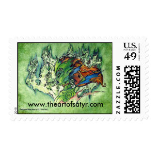 Sidhe Queen Postage