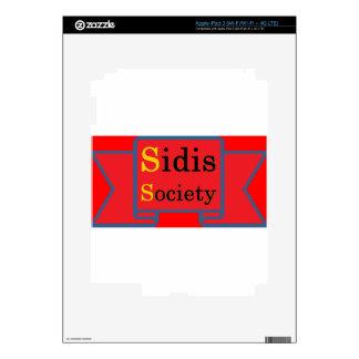 Sidis Society store Skins For iPad 3