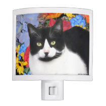 """Sidney"" Cat Night Light"