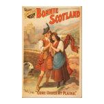 Sidney R. Ellis' Bonnie Scotland Scottish Play 2 Canvas Print