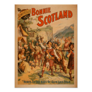 Sidney R. Ellis' Bonnie Scotland Scottish Play 2 Print