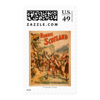 Sidney R. Ellis' Bonnie Scotland Scottish Play 3 Postage Stamp