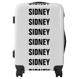 Sidney, Typo black Luggage