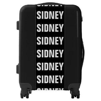 Sidney, Typo white Luggage