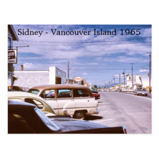 Sidney Vancouver Island Post Cards