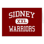 Sidney - Warriors - Middle - Sidney New York Greeting Cards