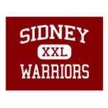 Sidney - Warriors - Middle - Sidney New York Post Card