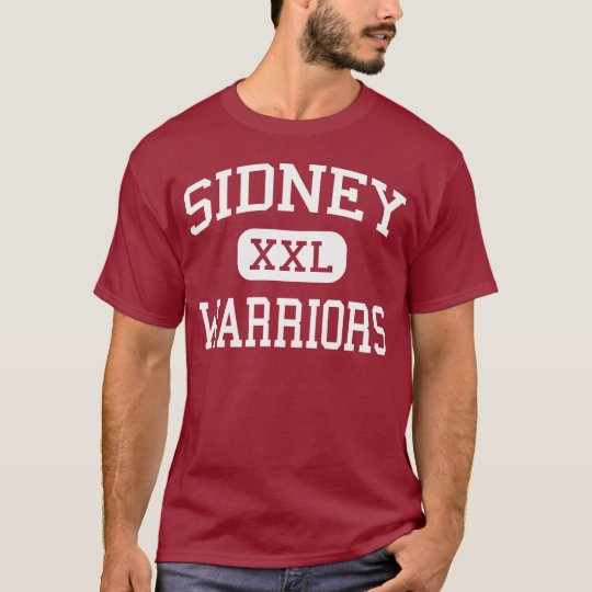 Sidney - Warriors - Middle - Sidney New York T-Shirt