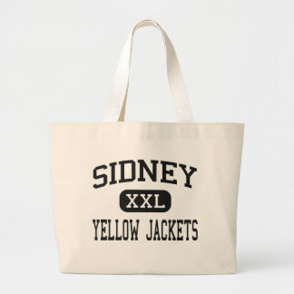 Sidney - Yellow Jackets - High - Sidney Ohio Canvas Bag