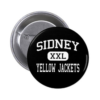 Sidney - Yellow Jackets - High - Sidney Ohio Pins