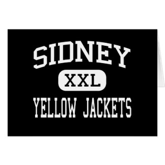 Sidney - Yellow Jackets - High - Sidney Ohio Cards