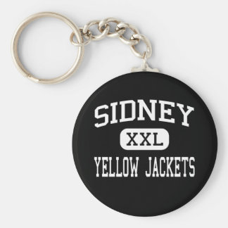 Sidney - Yellow Jackets - High - Sidney Ohio Keychains