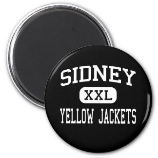 Sidney - Yellow Jackets - High - Sidney Ohio Magnet