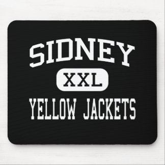Sidney - Yellow Jackets - High - Sidney Ohio Mouse Mats