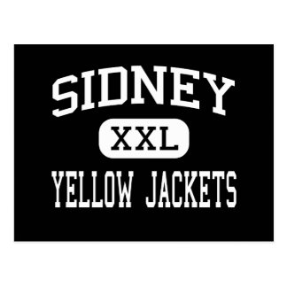 Sidney - Yellow Jackets - High - Sidney Ohio Postcards