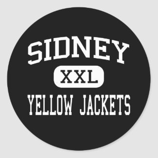 Sidney - Yellow Jackets - High - Sidney Ohio Stickers