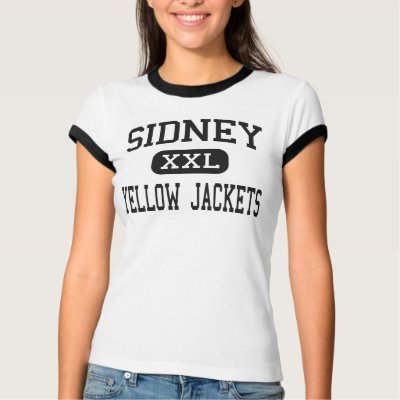 Sidney - Yellow Jackets - High - Sidney Ohio t shirts $ 23.60
