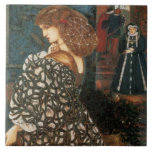 Sidonia von Borcke de Edward Burne-Jones Tejas