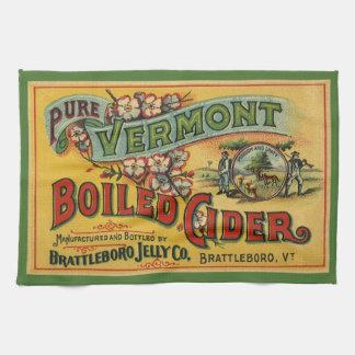 Sidra hervida jalea de Brattleboro de Vermont Toalla De Cocina