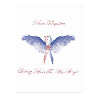 SIDS angel girl lost Postcard
