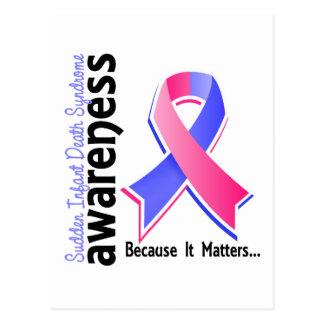 SIDS Awareness 5 Sudden Infant Death Syndrome Postcard