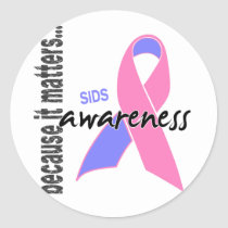 SIDS Awareness Classic Round Sticker