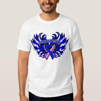 SIDS Awareness Heart Wings Tee Shirt