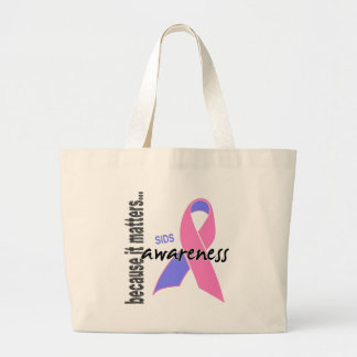SIDS Awareness Large Tote Bag
