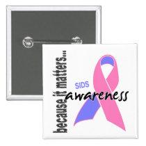 SIDS Awareness Pinback Button