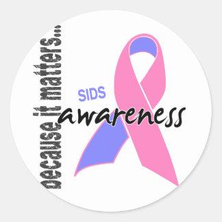SIDS Awareness Sticker