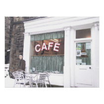 Sid's Café Canvas Print